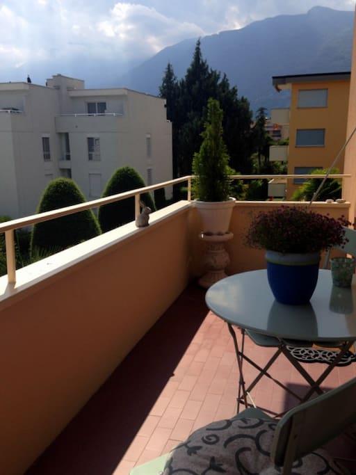 The balcony - Der Balkon - Il balcone