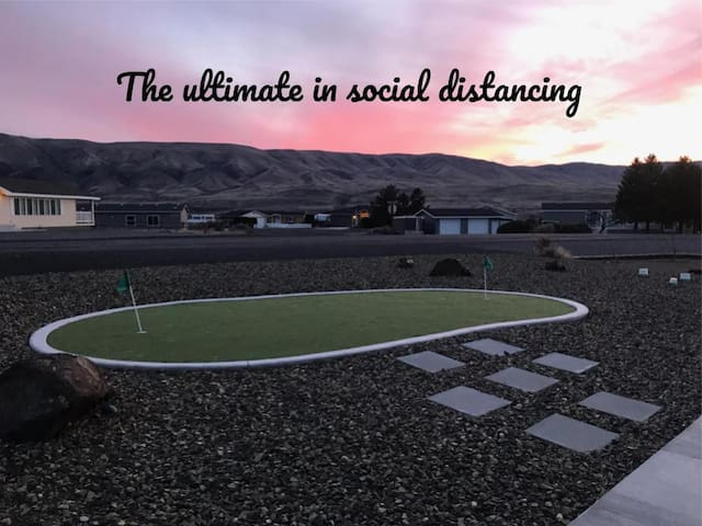 THE ULTIMATE IN SOCIAL DISTANCING AT DESERT AIRE