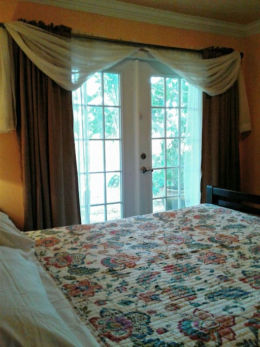 Private Bedroom with waterview