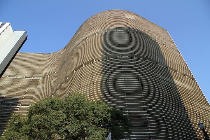 Studio 21º floor Copan Building - São Paulo - Apartemen