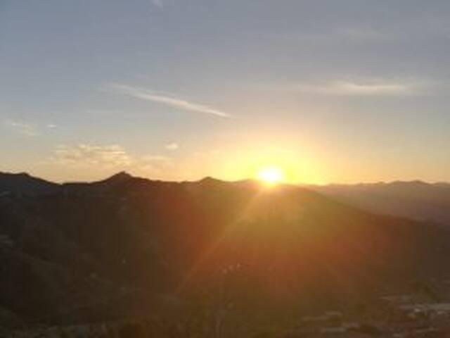 Beautiful Mornings and Evenings await you