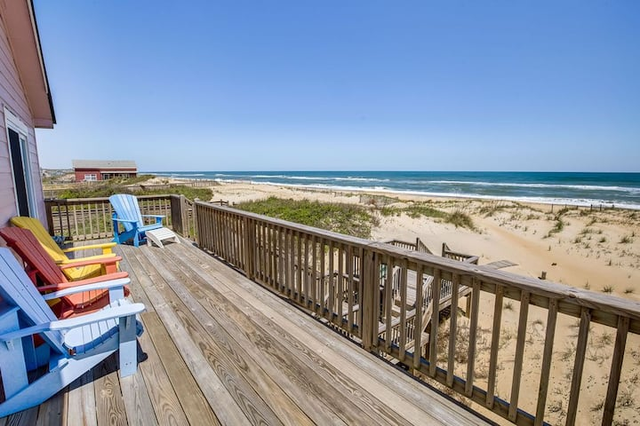 Next to Sea Oceanfront Outerbanks Beach House MP19