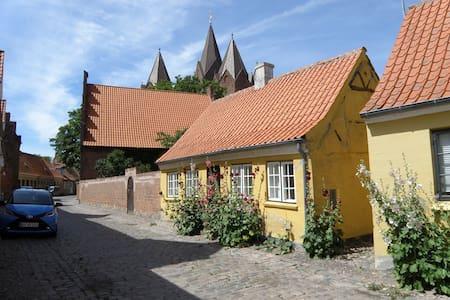 Charmerende lille hus i Kalundborgs Højby. - 칼룬보르