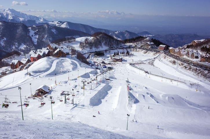 Appartamento fronte piste sci. - Prato Nevoso - Huoneisto