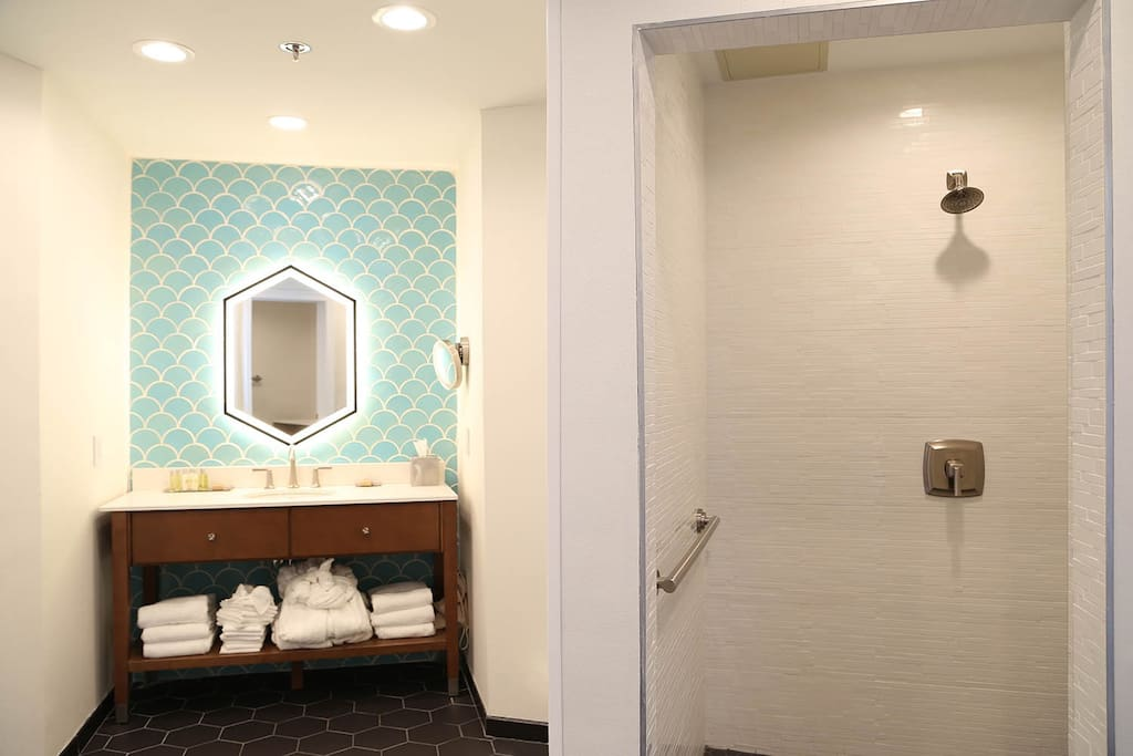 Bedroom #1 Shower