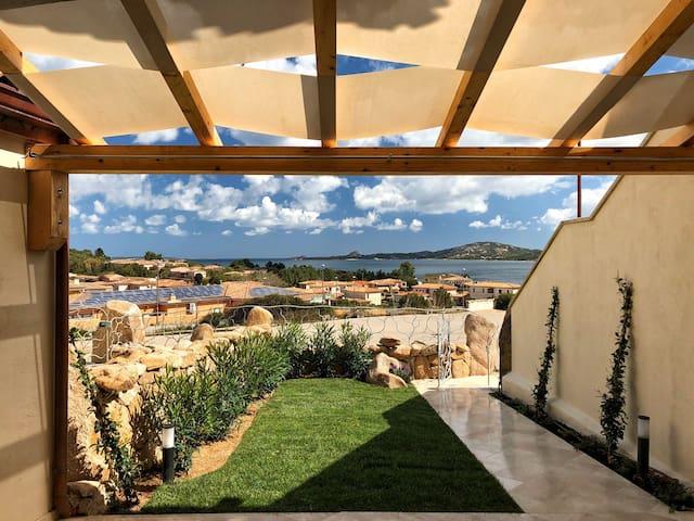 Villetta Tramontana con splendida vista mare