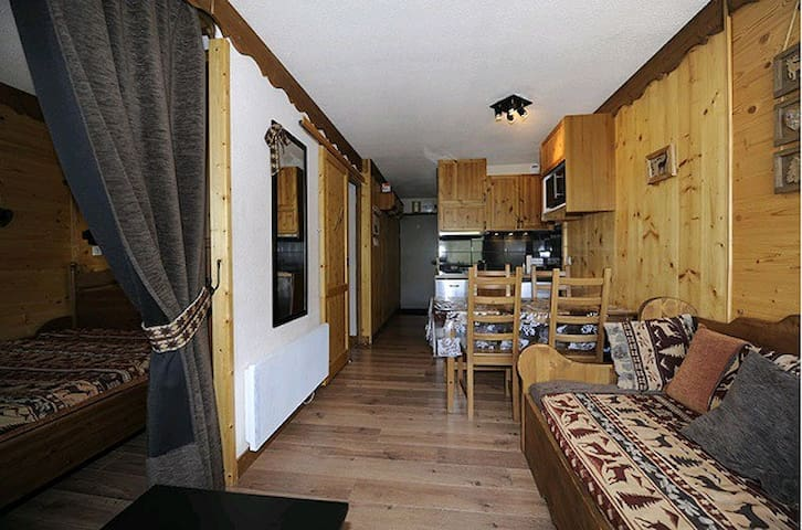 Beautiful apartment very good located ski in ski out