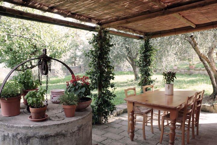 The house of AnnaVittoria - Monticchiello - Haus