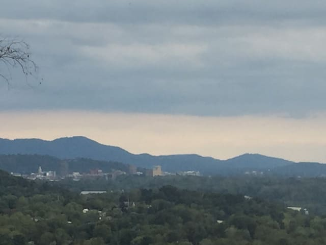 Amazing Views of Downtown and Mountains - Asheville - Apartemen