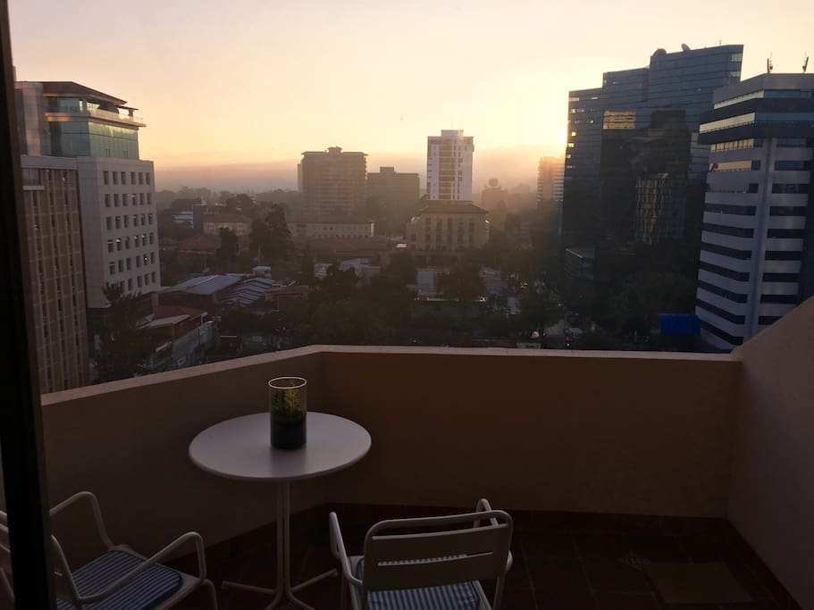Enjoy the Guatemala City views without paying for a hotel room