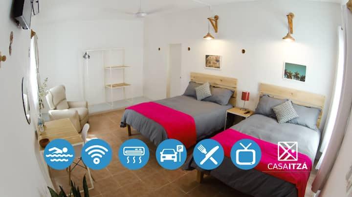 Habitación III en Casa Itzá
