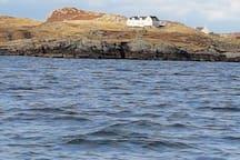 Ceann Bodaich from the sea