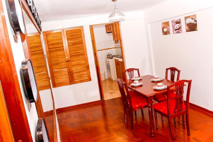 Porta 301 con la mejor ubicación en Miraflores.