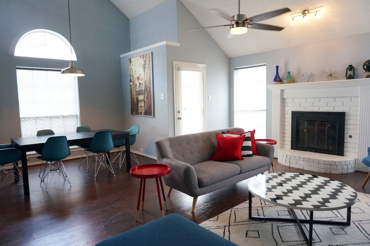 Cozy, Renovated House for Family Stay in Dallas - Houses for Rent ...
