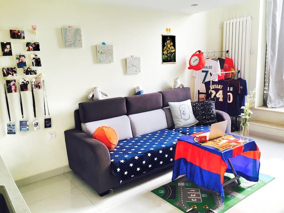 这是房间给你的第一感觉,你喜欢吗?