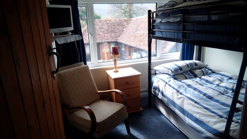2nd Bedroom - Family Suite, full size bunk beds