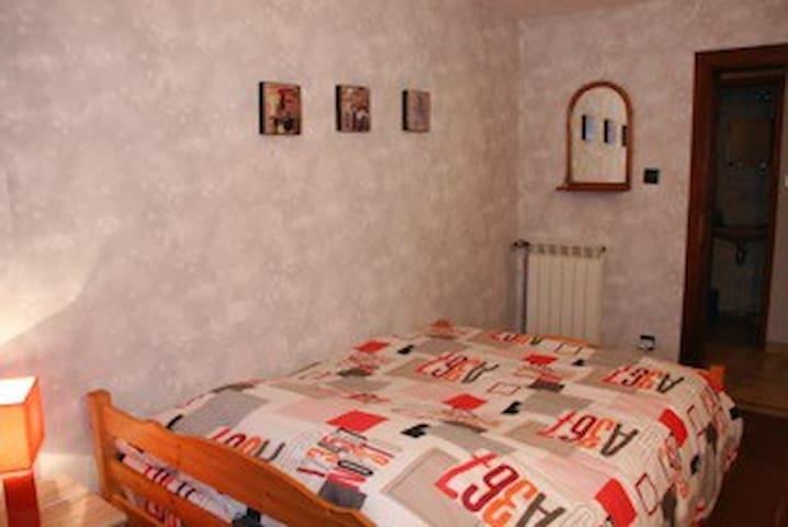 Chambre mandarine-Maison du Schaudi - Metzeresche - Ev
