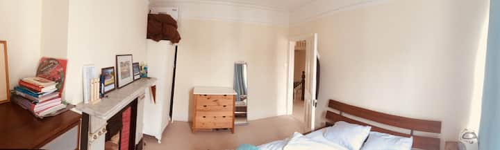 Large first floor double bedroom with own bathroom