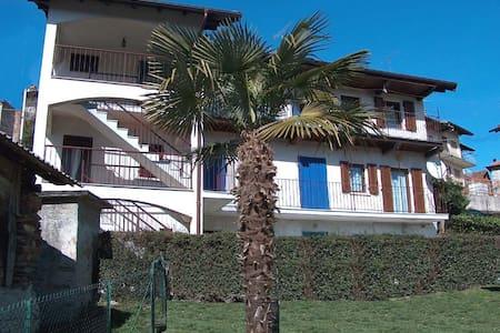 Affittasi appartamento con ampio giardino Sovazza