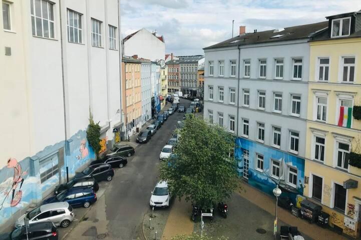 Gemütliches Zimmer im Rostocker Szeneviertel
