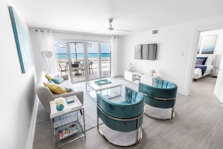 STUNNING RENOVATED LUXURY OCEANFRONT CONDO