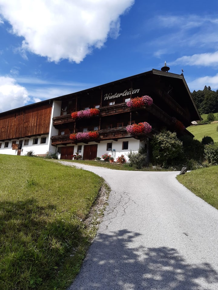 Urlaub auf dem Bauernhof in den Kitzbüheler Alpen5