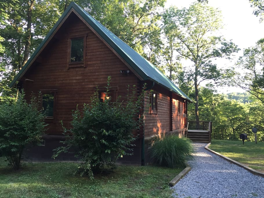 Reel it in cabin cabins for rent in luray virginia for Cabin rentals near luray va