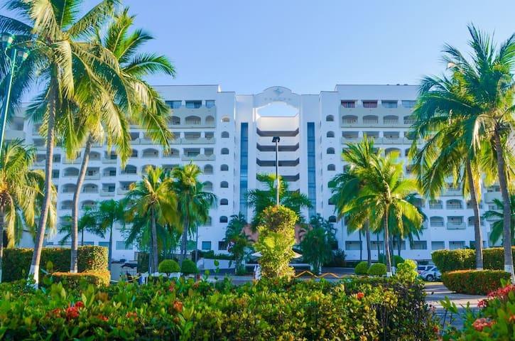 Condominios en el hotel Tesoro Ixtapa