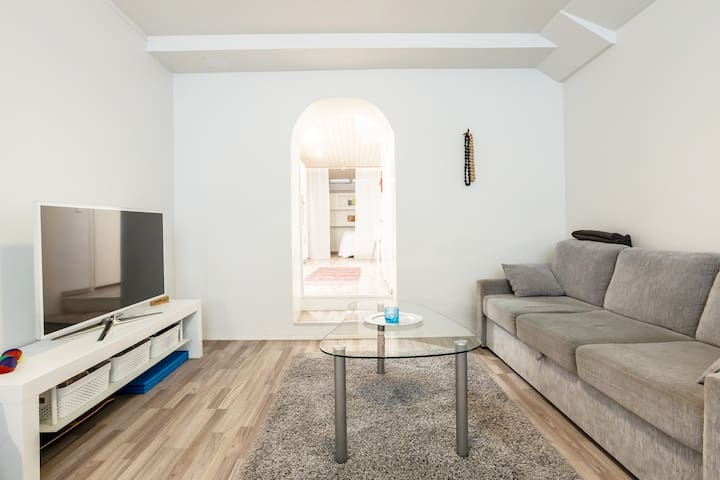 Cozy apartment + free parking in central Helsinki