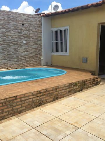 2 hóspedes por R$85,00 casa com 2 quartos