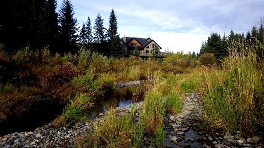Diamond Willow Retreat, luxury country home