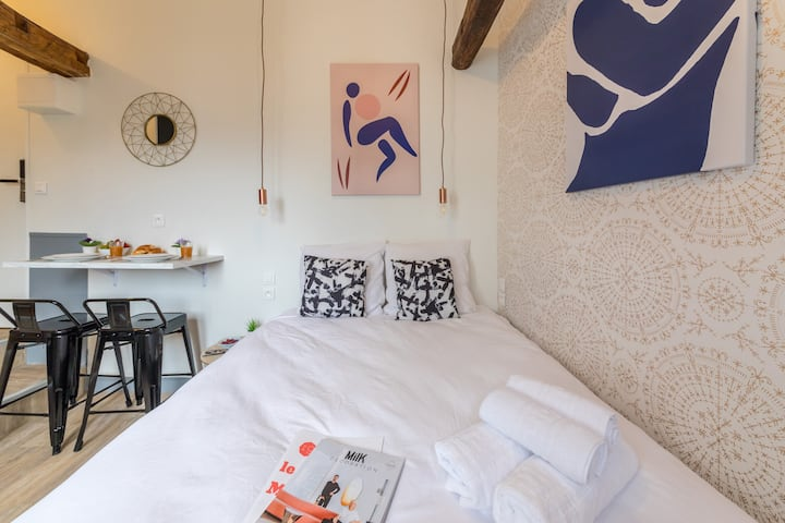 Lafayette - Saint-Lazare 63 : Cosy apartment for 2