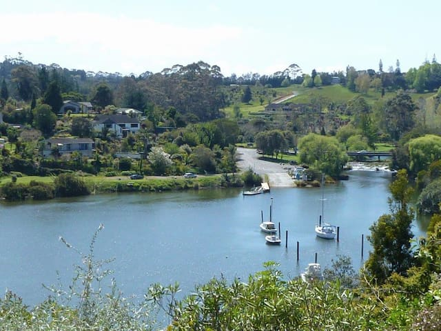 Relax on Riverview - Private Unit with Water Views
