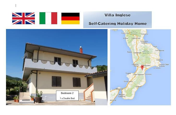 Mountain Location Quiet Retreat 2 plus beaches - San Luca - Villa