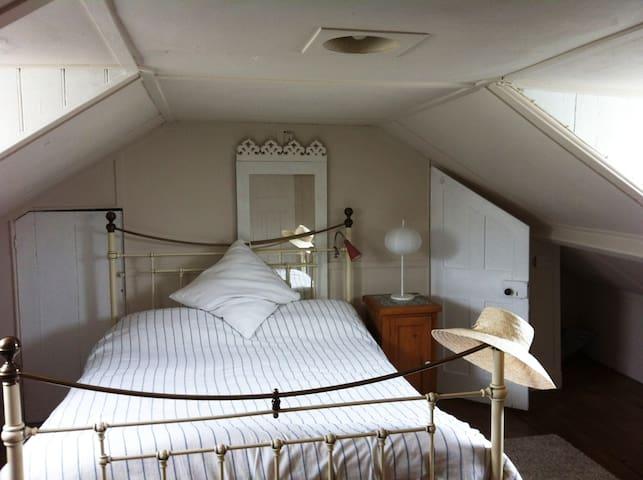 Spacious attic bedroom - Hastings - Bed & Breakfast