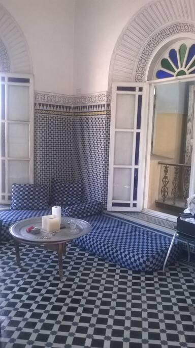 Petit salon marocain