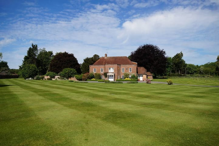 Grand House in Jane Austen's village of Chawton