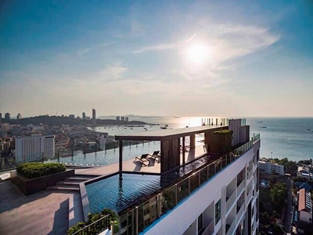 A栋31层泳池