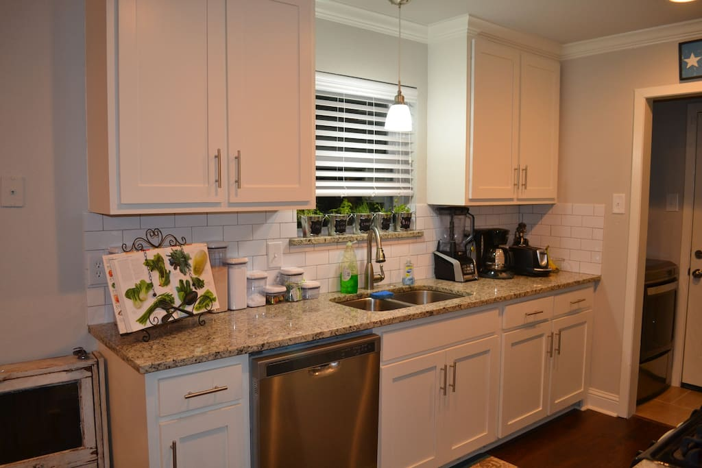 Full use of kitchen and appliances.