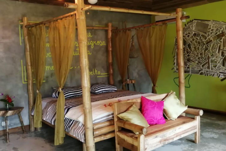 habitacion espaciosa cama king