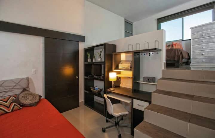 Cozzy room! en casa de lujo  SAN PEDRO