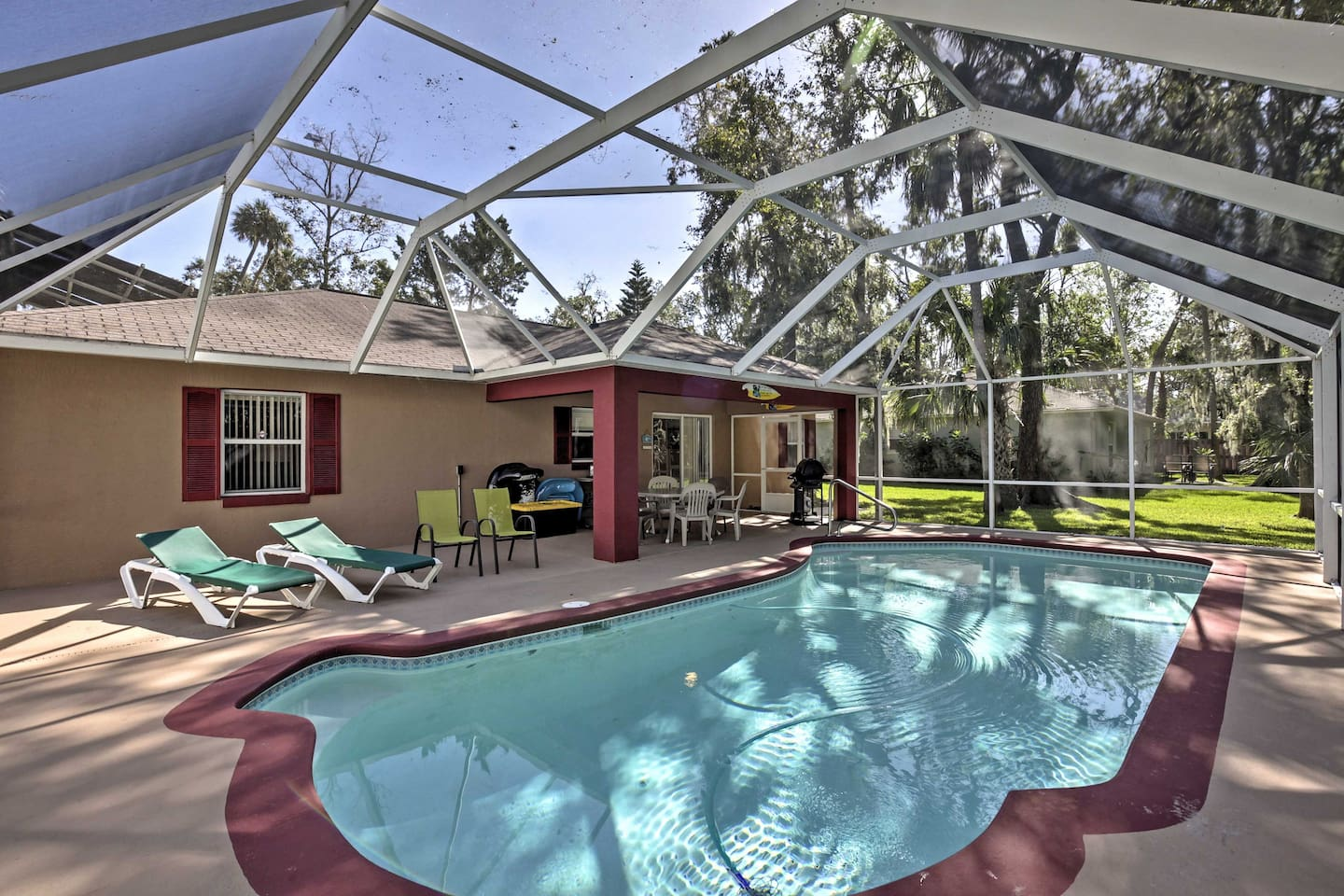 Escape to sunny Florida by booking this vacation rental house in Holly Hills!