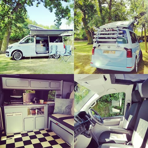 GinoDaCampervan, luxury 2018 VW Camper Hire