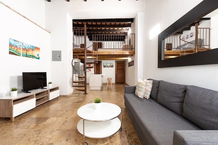 Amazing Loft in the heart of Old San Juan (1st)