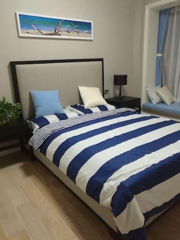 可看到钱塘江景的温馨公寓 - Hangzhou - Apartment