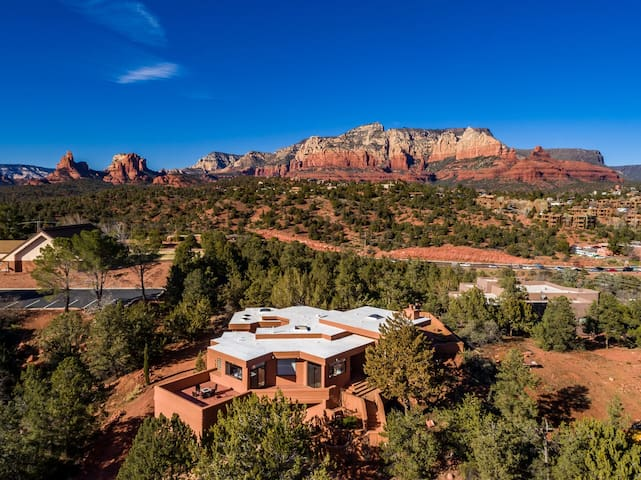 CDC Approved Cleaning! Sedona Painted Sky