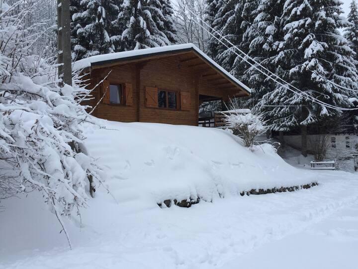 """"""" Le refuge du brabant """"- La Bresse ( sauna)"""