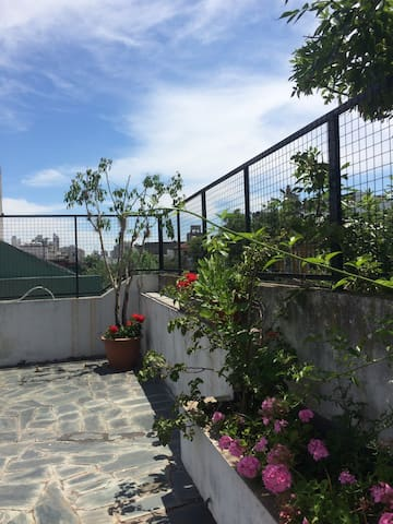 Habitacion privada amplia c/terraza - Buenos Aires - Dům