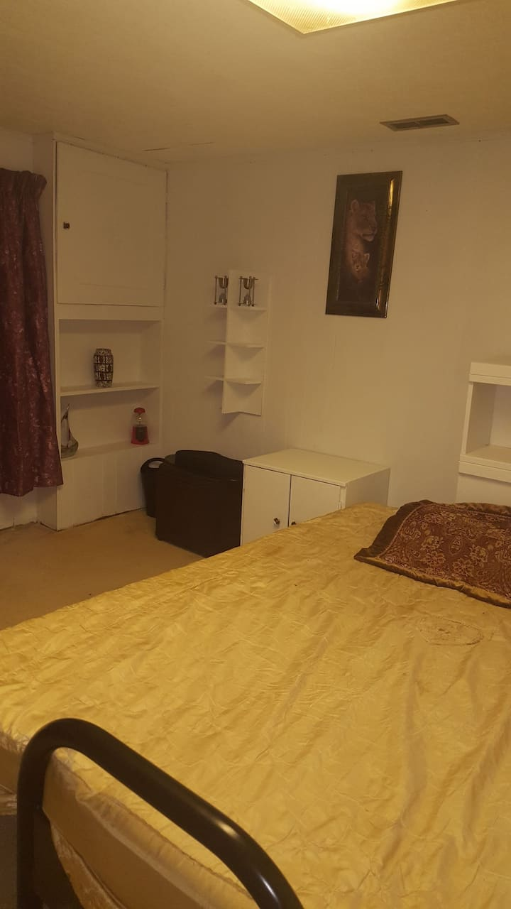 Furnished room in friendly, nice and quiet house.