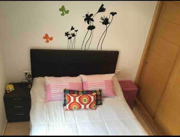 Habitación matrimonial 1.50 cm